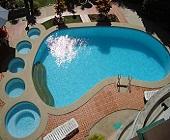1 bí mật duy nhất để thiết kế hồ bơi ngoài trời đã được tiết lộ