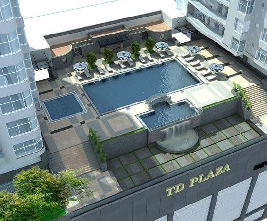 Bể bơi sân thượng