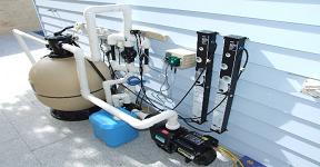 Khi xây dựng hồ bơi cần những thiết bị và dụng cụ gì ?