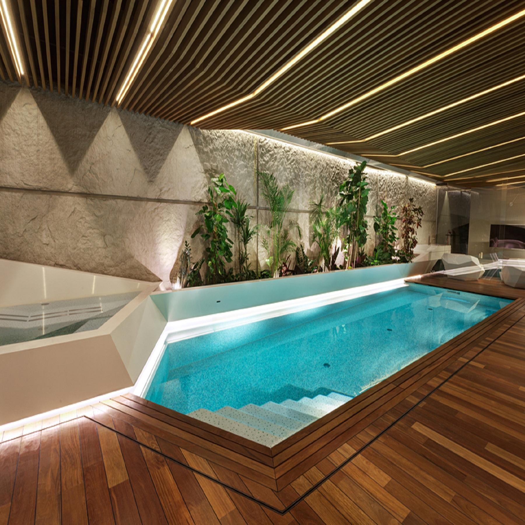 Sẽ đặc biệt hơn nếu thiết kế hồ bơi trong nhà